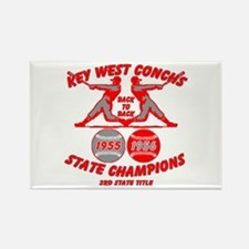 1956 Key West Conchs State Champions Rectangle Mag