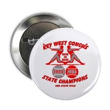 1956 Key West Conchs State Champions Button