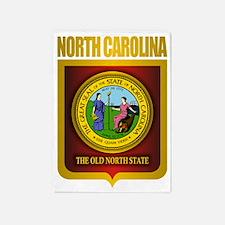 North Carolina Seal (B) 5'x7'Area Rug