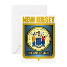 New Jersey Seal (B) Greeting Card