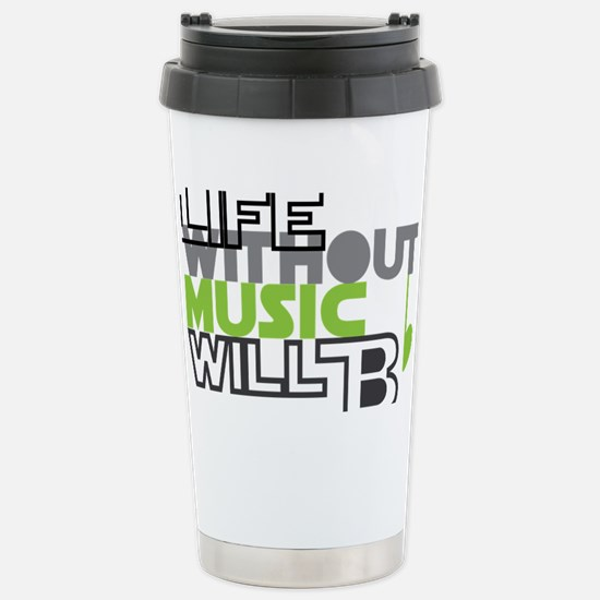 B flat Stainless Steel Travel Mug