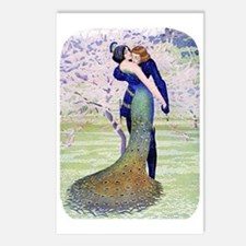 PwrBnk, Art Deco Couple - Postcards (Package of 8)