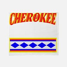 CHEROKEE TRIBE Throw Blanket