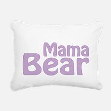 Mama Bear Claw Est 2013 Rectangular Canvas Pillow