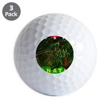 SPRIG FANATIC THROW RUG Golf Ball
