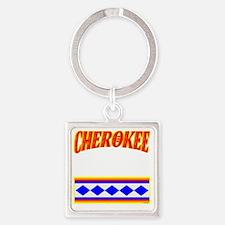 CHEROKEE TRIBE Square Keychain