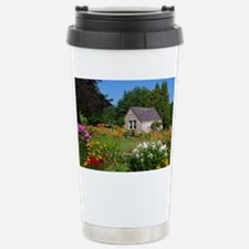 Country Garden Cottage Stainless Steel Travel Mug