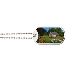 Country Garden Cottage Dog Tags