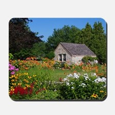Country Garden Cottage Mousepad