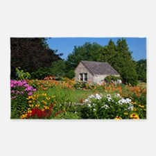 Country Garden Cottage 3'x5' Area Rug