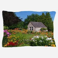 Country Garden Cottage Pillow Case