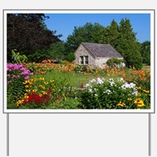 Country Garden Cottage Yard Sign