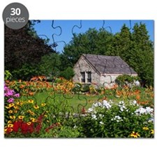 Country Garden Cottage Puzzle