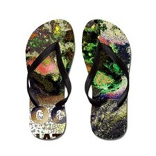 ROCK FANATIC THROW RUG Flip Flops