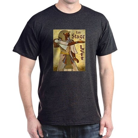 Exit Stage Left Egyptian Dark T-Shirt