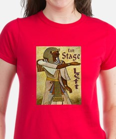 Exit Stage Left Egyptian Tee