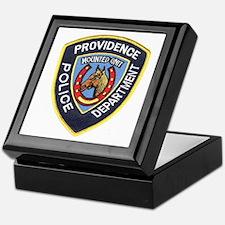 Providence Mounted Police Keepsake Box