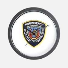 Providence Mounted Police Wall Clock
