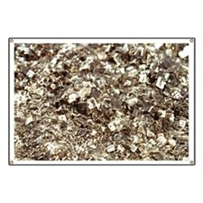 Photography of iron pyrite, Stone material, Banner