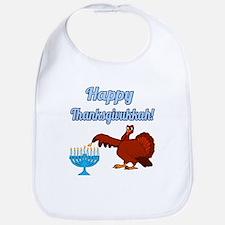 Happy Thanksgivukkah 4 Bib
