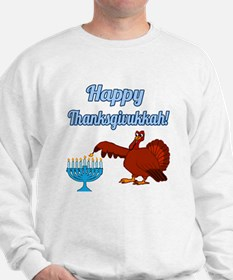 Happy Thanksgivukkah 4 Sweatshirt
