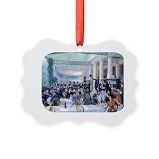 PwrBnk Victorian Lunch Scene Ornament
