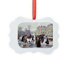 PwrBnk Glimpse of Victorian Winte Ornament