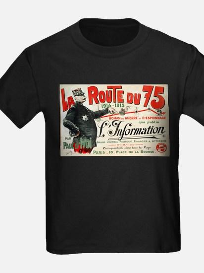La Route De 75 - Jose Roy - 1915 - poster T-Shirt