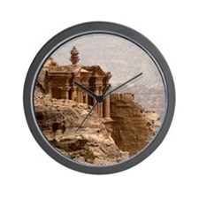 Monuments in Petra. Wall Clock
