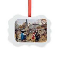 PwrBnk-Victorian Rainy Day Street Ornament