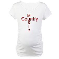 Country Music Cross Shirt