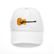 Acoustic Guitar Baseball Cap