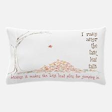 leafPiles Pillow Case