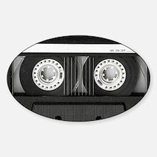 Cassette Sticker (Oval)