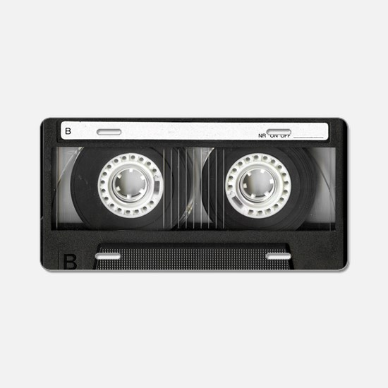 Cassette Aluminum License Plate