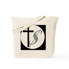 churchmoneybutton Tote Bag