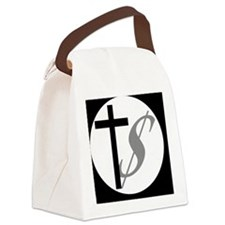 churchmoneybutton Canvas Lunch Bag