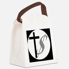churchmoneybutton Canvas Lunch Bag