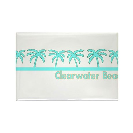 Clearwater Beach, Florida Rectangle Magnet (100 pa