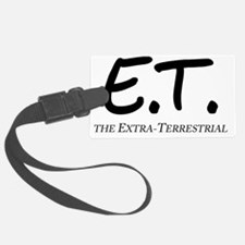 E.T. The Extra-Terrestrial Luggage Tag