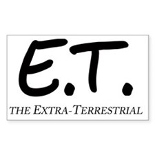 E.T. The Extra-Terrestrial Decal