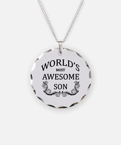 World's Most Awesome Son Necklace