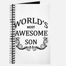 World's Most Awesome Son Journal