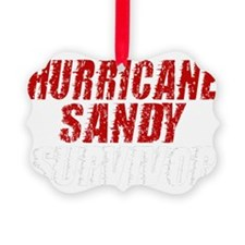 Hurricane Sandy Survivor Ornament
