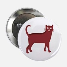 Magenta Cat Button