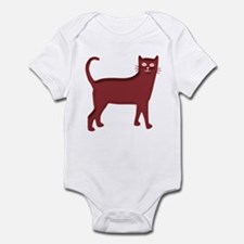 Magenta Cat Infant Bodysuit