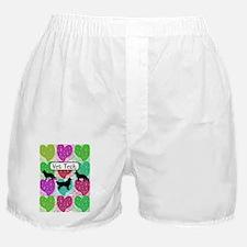 vet tech 3 hearts Boxer Shorts