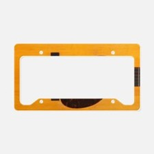 Acoustic Guitar License Plate Holder