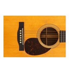 Acoustic Guitar Postcards (Package of 8)