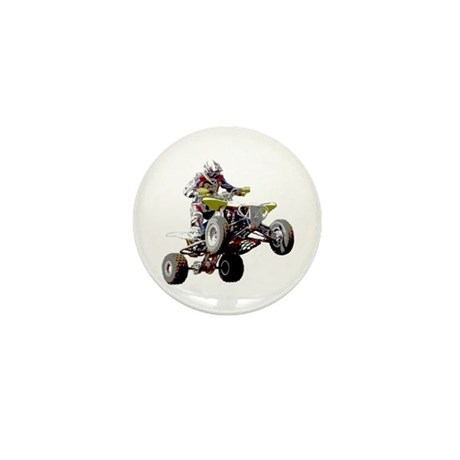ATV Racing (color) Mini Button (100 pack)
